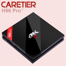3PCS H96 Pro TV Box 3GB 32GB Gigabit Ethernet Android 6.0 Smart Set top Box Amlogic S912 Octa Core Wifi Video player BT4.1(China)
