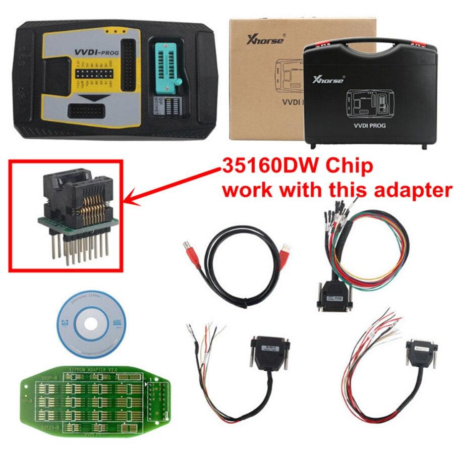 Original Xhorse 35160DW Chip Reject Red Dot No Need Simulator Fit For VVDI Prog