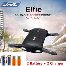 JJRC H37 ELFIE Mini RC Selfie Drone Gyro WiFi FPV One Key Return RC Drones Helicopter with Camera HD Professional RC Dron Gift