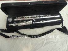 Professional Flute 17  Hole Openings C Tone  Flute Plus The E Key Surface Silver Plated Flute  FL-511SE Musical Instrument