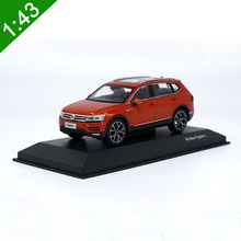 High Simulation 2017 New 1:43 Off-road TIGUAN L Diecast Alloy Car Model VW SUV Volkswagen For boy gift Toy Original Box(China)
