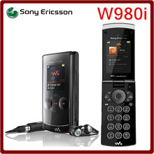 W980 Original Unlocked Sony Ericsson W980 GSM 3G 3.15MP Camera Bluetooth Email Mp3 Player 930mAh Mobile Phone Free Shipping