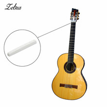 Zebra 42mm 6 String Cattle Guitar Chord String Pillow Bone Nut for Musical Instruments Electric Guitars Parts Accessories(China)