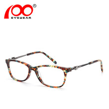 Moda óculos quadro feminino designer de Marca Popular mulheres armações de  óculos de olho claro   SRA216 3b80ecb6d3