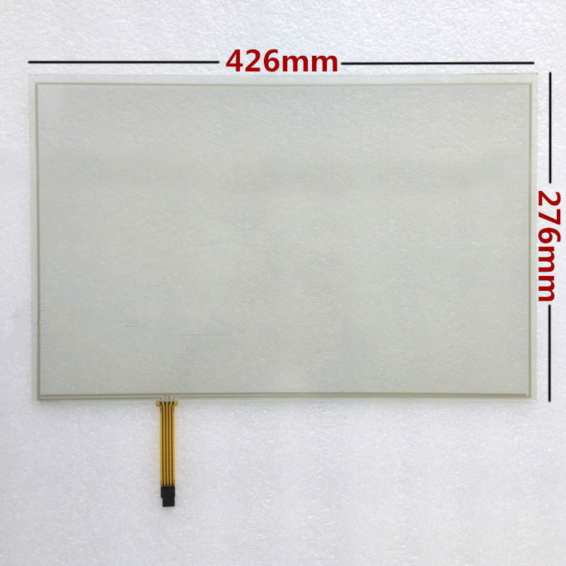 19-inch touch screen display 16:10 wide-screen four-wire resistive touch screen panel 426x276<br>