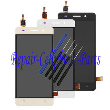 Black / White / Gold Full LCD DIsplay + Touch Screen Digitizer Assembly For Huawei Honor 4C / G Play mini Free shipping + Tools(China)