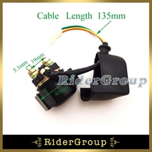 Starter Solenoid Relay 2 pins For Chinese ATV Scooter Go Kart Buggy Pit Dirt Bike 50cc 90cc 110cc 125cc 150cc 160cc 250cc Engine