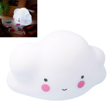 Lovely Cloud Baby Bedroom Night Light Sleep LED Lamp Bulb Nightlight Toys for Children Brand New