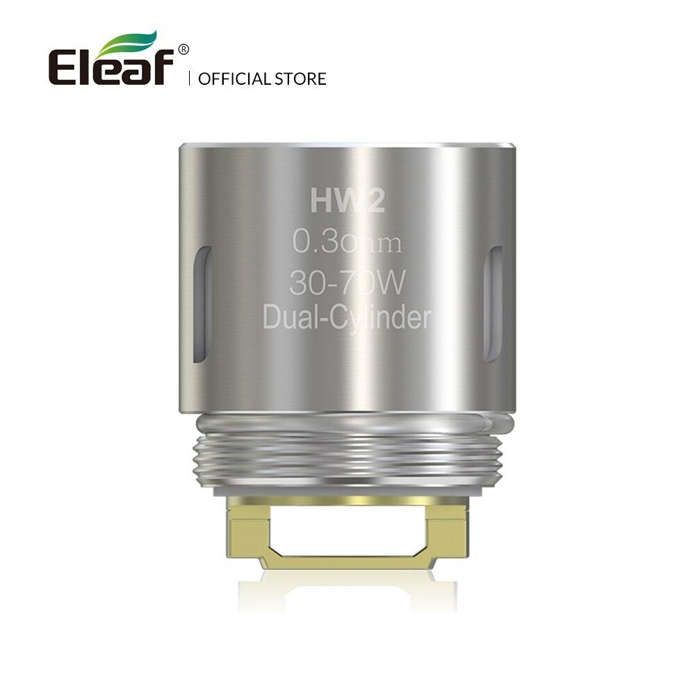 5pcs/lot Original Eleaf HW2 Dual-Cylinder 0.3ohm Head 30-70W HW Coil for Ello/Ello Mini/Ello TS tank electronic cigarette