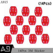 Buy A9 14Pcs 3M Red Adhesive Sticker Double Faced Adhesive Tape Gopro hero5 4 3+ 2 SJ4000 Xiaomi Yi A915 Store) for $1.53 in AliExpress store