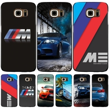 luxury bmw M3 photo print cell phone case cover for Samsung Galaxy S7 edge PLUS S8 S6 S5 S4 S3 MINI