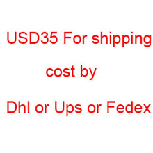 Fast delivery by ups or dhl / fedex /ups service shipping cost(China)