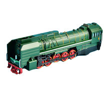 Toy Vehicle Vintage Gas Locomotive Train Model,with light and sound, Pullback