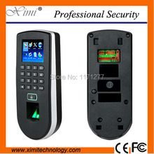 Rfid card fingerprint door access control time attendance TCP/IP and 2.4inch color TFT lcd screen factory school security device
