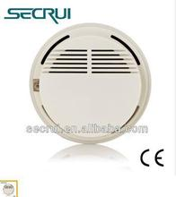 signal 315 MHz  Wireless photoelectric smoke detector with DC9V battery  ,GSM alarm system spare part ,smoke sensor