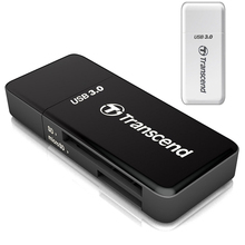 Transcend Original 2 in 1 High Speed USB 3.0 Card Reader Adapter For SDHC/ SDXC/ microSDHC/ microSDXC /UHS-I TF Card Adaptor