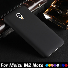 Luxury Frosted Matte Plastic Hard Cell Phone Case Cover For Meizu M2 Note Case Shell Back Cover For Meizu Blue Charm Note 2 Case