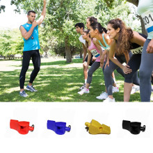 1Pcs Plastic Whistle Referee Practical Durable Whistle Professional Soccer Basketball Hockey Baseball Sports Referee Whistle(China)