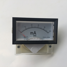 DC Ampere Meter 50mA 85C17 0-50 milliampere Amp Analog Panel Meter Current Ammeter Co2 Laser Cutting Engraving Machine
