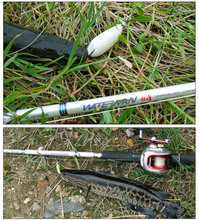 KAWA WATER MAN-C702H LURE ROD, WHITE/BLACK TWO COLORS, snakehead fish ROD, free shipping