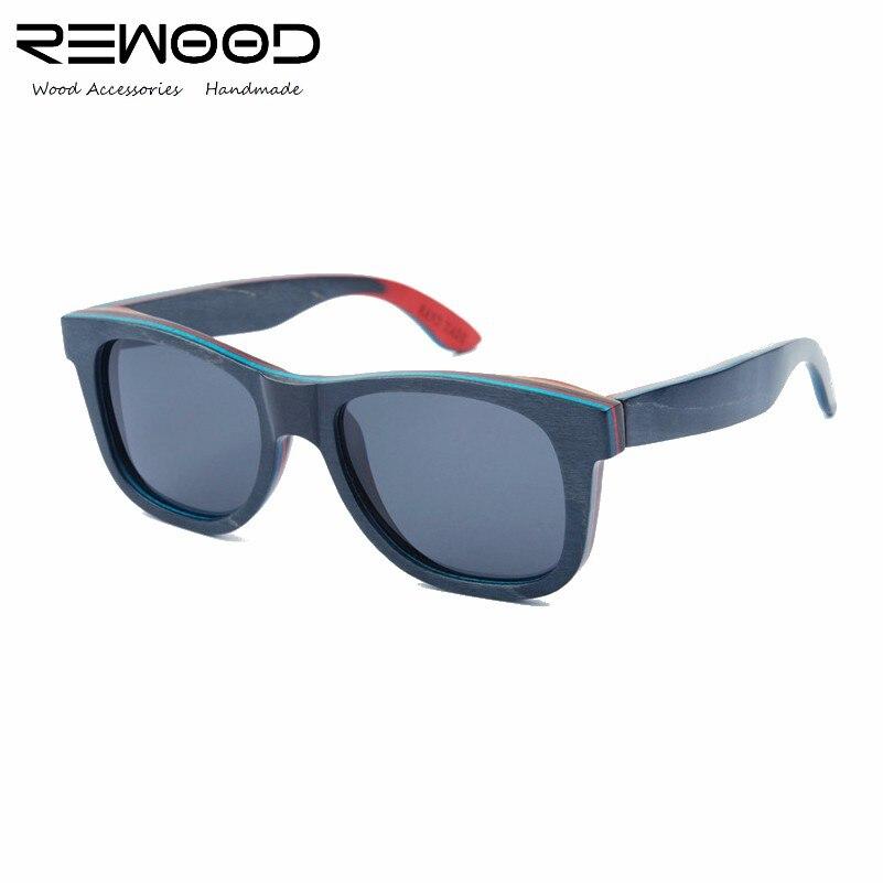 Rewood Brand Best Mens Wooden Sunglasses Polarized Mirror Lens Big Oversize Eyewear Accessories Sun Glasses For Men/Women<br><br>Aliexpress