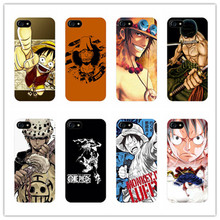 "Cartoon ""ONE PIECE"" design plastic case For Samsung Galaxy s4 s5 s6 s7 edge phone cover iphone 5s 6 6s 7 plus Monkey D. Luffy"