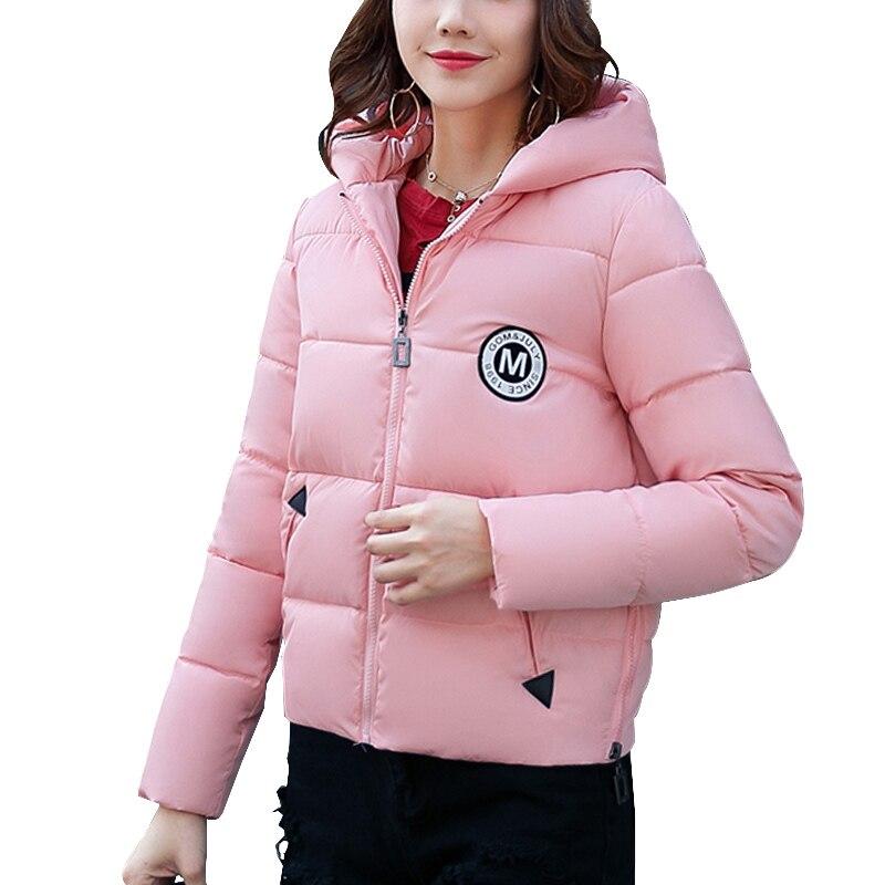 Winter coat women 2017 Fashion Long Sleeve Womens Down Parkas Jacket women Slim Casual Hooded Coat Female Women clothingÎäåæäà è àêñåññóàðû<br><br>