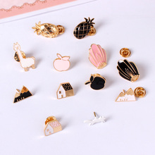 Fashion jewelry charm women clothing accessories accessories girl jacket micro chapter Romantic badge series wholesale