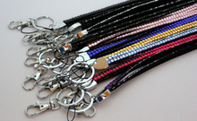 1pcs Shinning Bling Bling Crystal Rhinestone Lanyard Neck Strap For ID Badge Holder Key Holder Different Colors