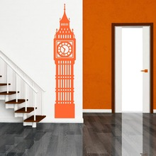 N246 Big Ben Londra Orologio Parete in Vinile ARTE Adesivo Decorazione BIG BEN LONDON CLOCK Wall Art Wall Stickers Home decor