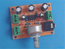 5pcs DC 2-12V  TDA2822 Double audio power amplifier board suite  DIY TDA2822 Dual channel stereo output,