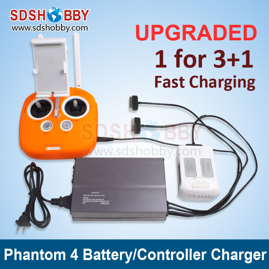 Battery Parallel Charging Board Remote Control Intelligent Charger Multi Battery Charger for DJI Phantom 4/PRO/PRO+<br><br>Aliexpress