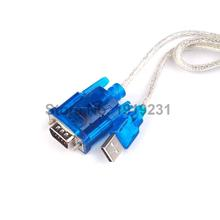 1PCS DB9 RS-232 RS232 USB-RS232 HL-340 Serial Device Converter Adapter Cable Support Win 7 64 bits