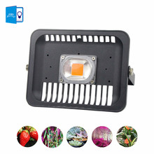 IP65 LED COB Grow Flood Light 100W 50W 30W 220V Input Smart IC Driver Full Spectrum Fruit Flower Cultivate Plant DIY Grow Light