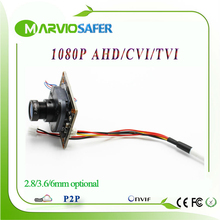 2MP 1080P Full HD CCTV AHD-H AHD Camera Modules Board with IRCUT and Lens 2400TVL Resolution Upgrade CCD / CMOS Camera camara(China)