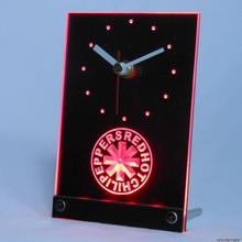 tnc0149 Red Hot Chili Peppers Rock Band Table Desk 3D LED Clock