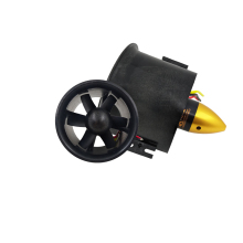 Buy QX_MOTOR Brand DIY Airplane Model Parts Whole EDF 70mm Duct Fan+3000kv Motor Spindle-4mm Motor Jet RC EDF Wholesale for $20.25 in AliExpress store