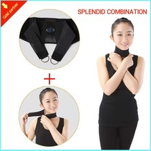 Waist Support With Magnet Function, Back Protector With Strength Belt With Self Heating Tourmaline Neck Brace Support Best Gifts