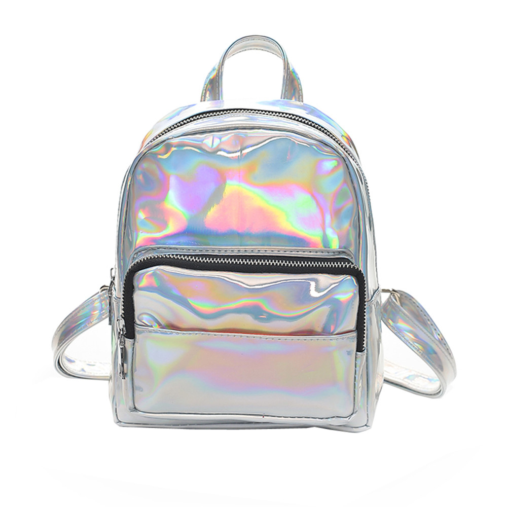LJL Trendy Style New Teen PU Leather Backpack Casual Student Bag Large Capacity Multi-Pocket Computer Bag Outdoor Travel Backpack