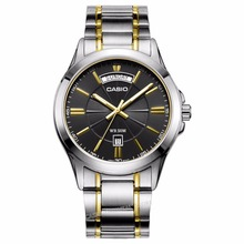Casio Watch Luxury Brand Men Wrist Watch MTP-1381G-1A Fashion&Casual Waterproof Stainless Steel Band Date Day Clock