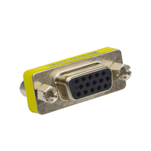 New Female to Female VGA to VGA Adapter HD15 Pin Gender Changer Convertor Adapter VGA Extend Converter for Monitor Computer