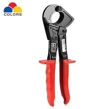 New Arrivel Ratchet Wire Cutter Plier 240mm Ratchet Cable Cutter Hand Tools Hand Pliers(China)
