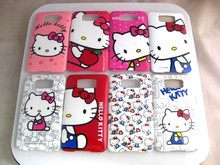 8 Patterns Hello Kitty Hard Phone Case Cover for for HTC HD2 T8585 Cover Case