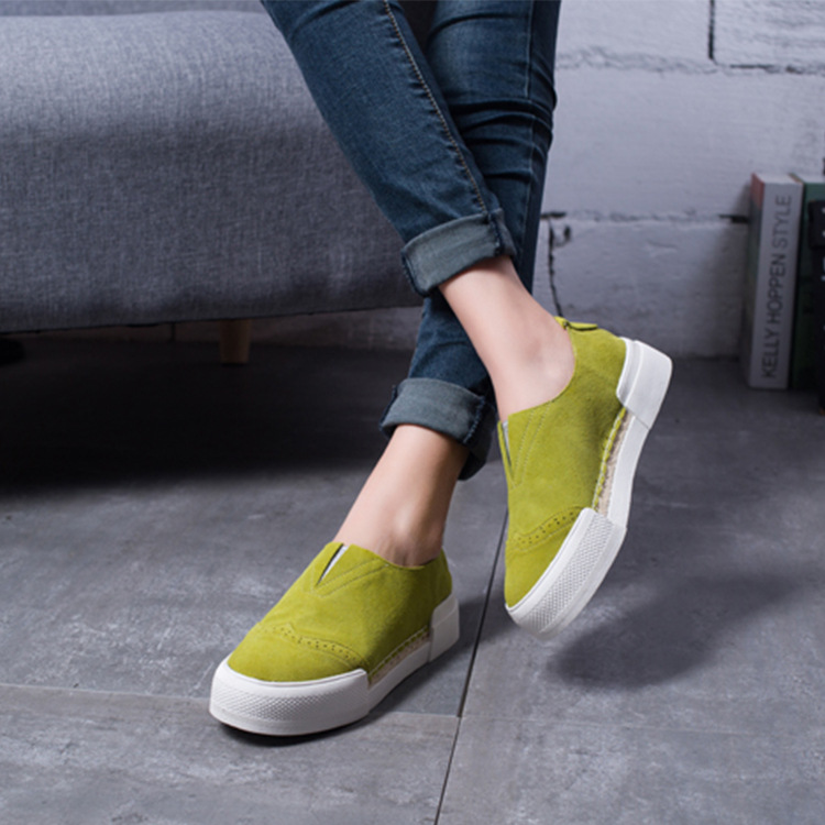 2017 New Summer Loafer Without Lacing Fashion Design With Flat Leisure Shoes Shoes Woman Sapato Feminino Superstar<br><br>Aliexpress