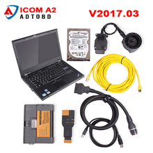 Newest V2017.07 software For BMW ICOM A2+B+C Diagnostic & Programming Tool ICOM A2 for BMW Diagnostic WIth t420 notebook
