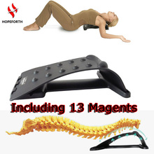 Hopeforth Back Stretching Magic Plus Waist Relax Multi-function Mate Back Massage Magic Neck Stretcher Fitness Applicance(China)