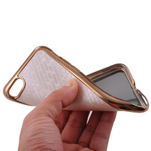 For iphone 7 7 Plus  Case Electroplated Football Skin Case  Soft TPU Cover Gold Plating Silicone