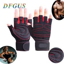 High Quality Women/Men Gym Gloves Body Building Sport Fitness Gloves Exercise Weight Lifting Gloves Men Gloves Women