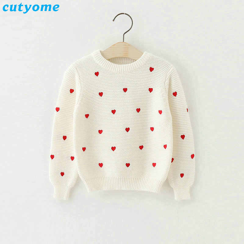 98d3e68a8 Detail Feedback Questions about Children Girls Cardigan Heart Design ...