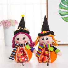 Hot Selling!Halloween Cute Witches Bag Kids Candy Bag Children Wholesale Price Storage Bag Gift